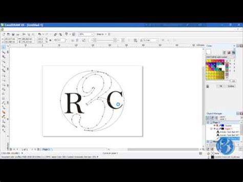 tutorial gambar corel draw x5 tutorial gambar 3d sederhana corel draw x5 by rahmat tri