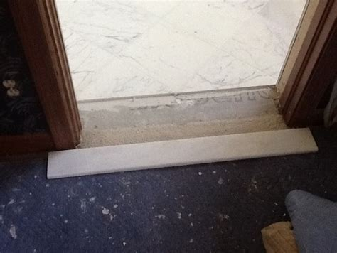 Door Saddle Tile & How Do You Handle Transition From