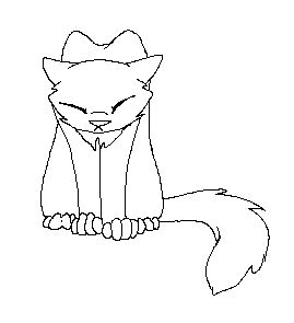 sad cat coloring page sad cat lineart by xxbramblezxx on deviantart