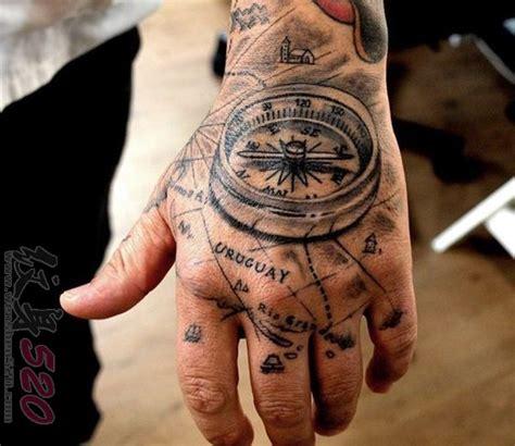 多款黑色素描点刺技巧创意钟表纹身图案