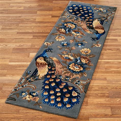 peacock rugs majestic peacock slate gray area rugs