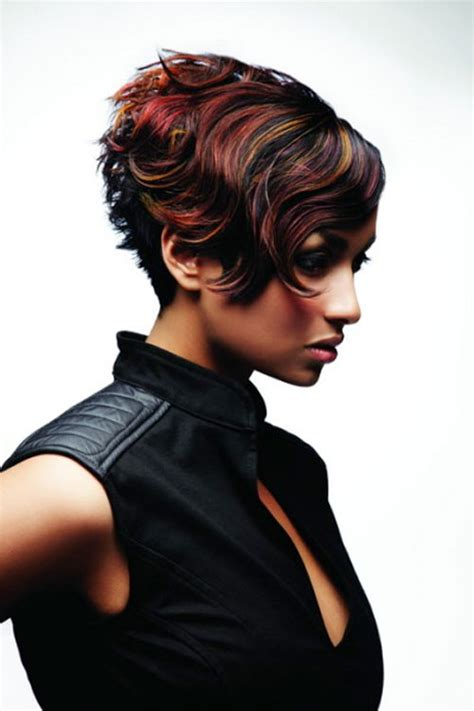 hairstyles and color for short curly hair 25 short hair color trends 2012 2013 short hairstyles