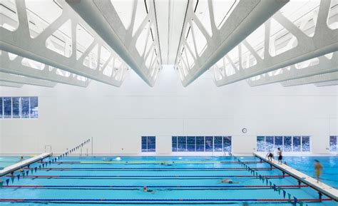 Ceiling Tiles Vancouver by Ceiling Panels Make A Splash At New Aquatic Centre 2016
