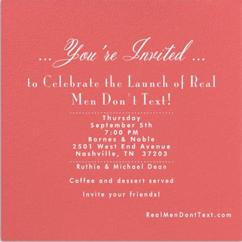 launch invitation templates 64 best images about book launch inspiration on