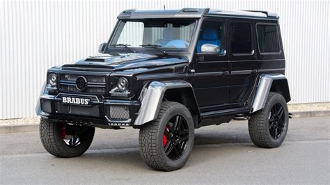 mercedes g class brabus mercedes g wagen 4x4 squared gets tuned by brabus