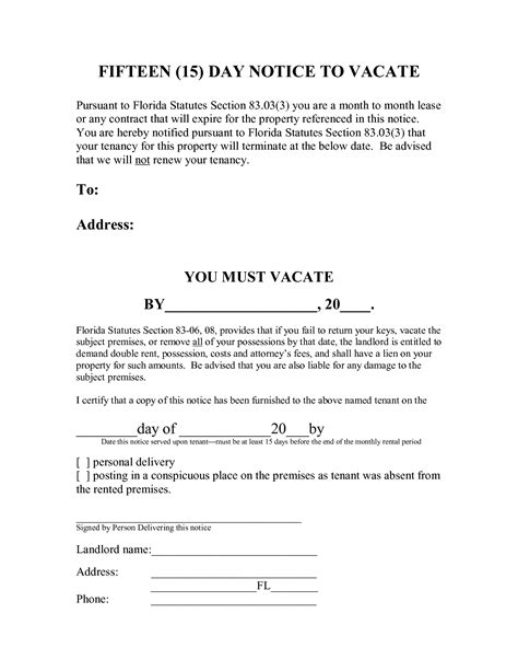 15459080 Png 5 Day Eviction Notice Legal Documents Pinterest Eviction Template Florida