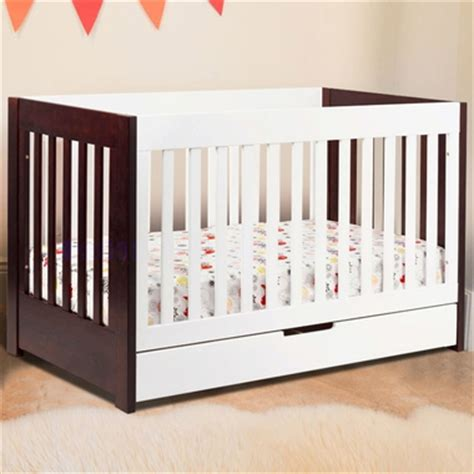 Two Tone Baby Crib Mercer 3 In 1 Two Tone Baby Crib In Two Tone M6801qw By Babyletto Baby Cribs At