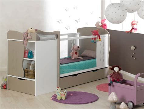 chambre bebe evolutive chambre b 233 b 233 233 volutive belem blanc tiroir et matelas
