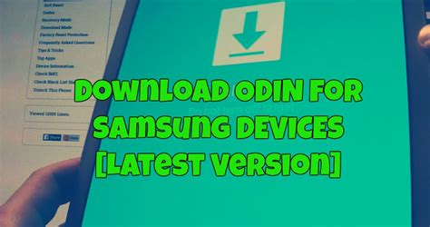 odin apk odin downloader all versions