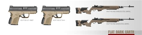fde color springfield armory releases flat earth color for m1a