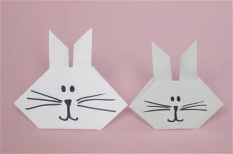 Origami Animals Rabbit - origami bunny family crafts