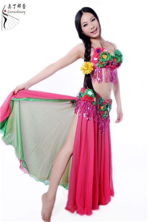 Handmade Dancewear - handmade belly dancewear chiffon hawaii style