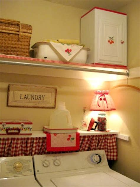cute laundry room curtains 5005brookhollowlanelaundryfixup cute little decorated