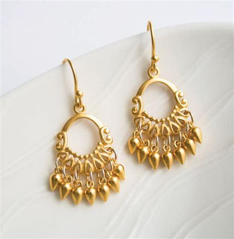 Gold Chandelier Earrings Gold Jewelry Bohemian Earrings Chandelier Earrings