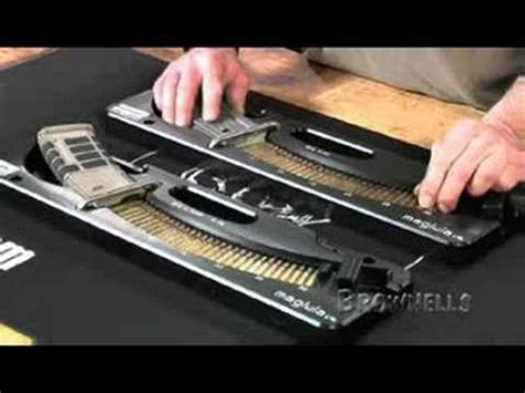bench loader brownells maglula bench loader youtube