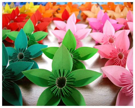 Origami Modular Flower - origami flowers for by wastedlimes on deviantart