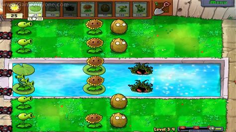 Plants Vs 4 plants vs zombies hd level 3 4