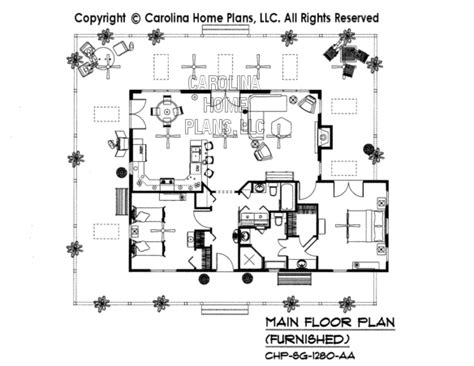 home floor plans carolina 3d images for chp sg 1280 aa small country cottage 3d