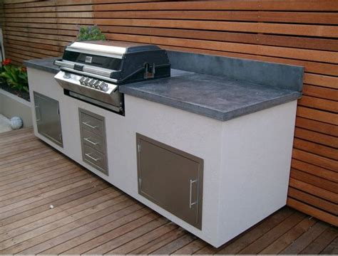 concrete bbq bench concrete bbq alfresco bench alfresco pinterest