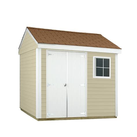 Sheds Usa Consumer Reviews by Sheds Usa 8 Ft X 10 Ft Installed Vinyl Hide A Way V0810hw The Home Depot
