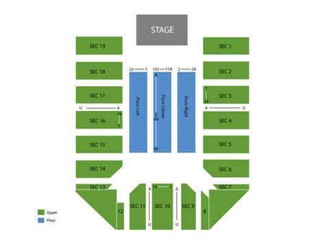 san jose event center map event center at san jose state seating chart