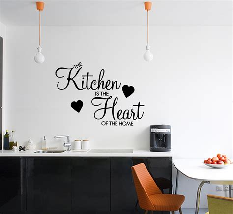 wall sticker for kitchen kitchen is the of the home wall sticker decal vinyl