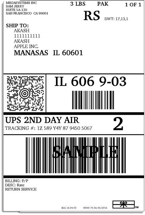 printable shipping label ups setting up woocommerce ups shipping plugin xadapter