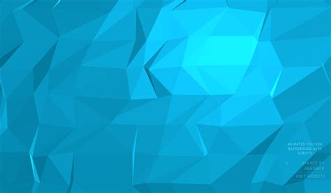 animation layout css blue animated polygon background