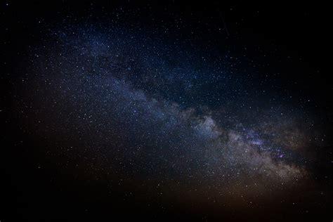 wallpaper bintang malam milky way galaxy view in silverthorne colorado image