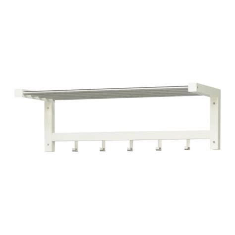 Ikea Hanger Rack by Tjusig Hat Rack White Ikea