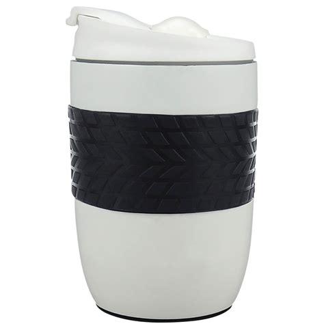 go white stainless steel travel mug 260ml home