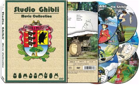 studio ghibli film cell studio ghibli all 17 films the complete movie