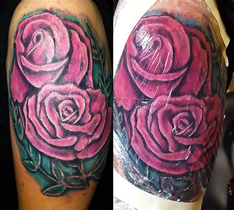 color works tattoo gallery 1 color work tattoos petersburg fl artist