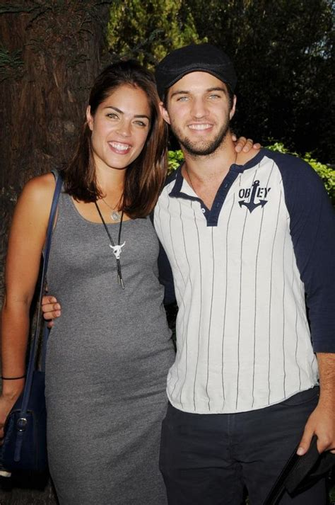 kelly thiebaud pregnant in real life real life gh lovebirds bryan craig morgan and kelly