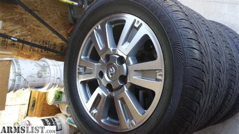 Toyota Truck Rims For Sale Armslist For Sale Toyota Tundra Platinum Wheels And