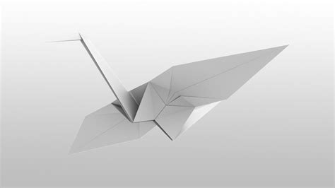 How To Make An Origami Crane That Flaps Its Wings - paper bird origami flapping bird how to make an origami