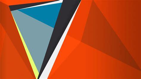 Hd 14 Grey Orange hd wallpaper triangle orange background desktop