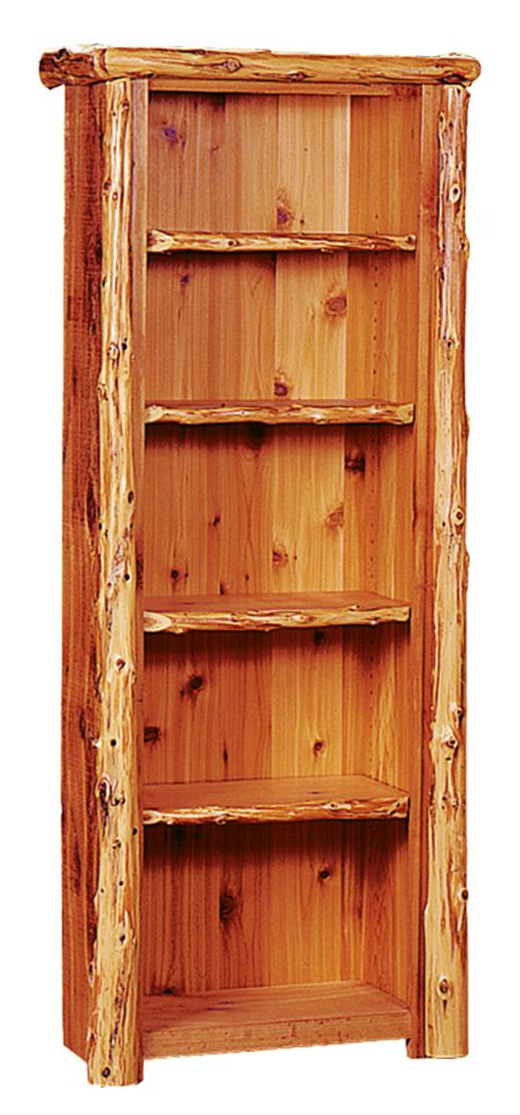 lewis bookcase rustic furniture mall by timber creek
