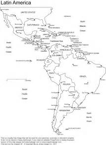 Latin America Blank Map by Outline Map Of Latin America New Calendar Template Site