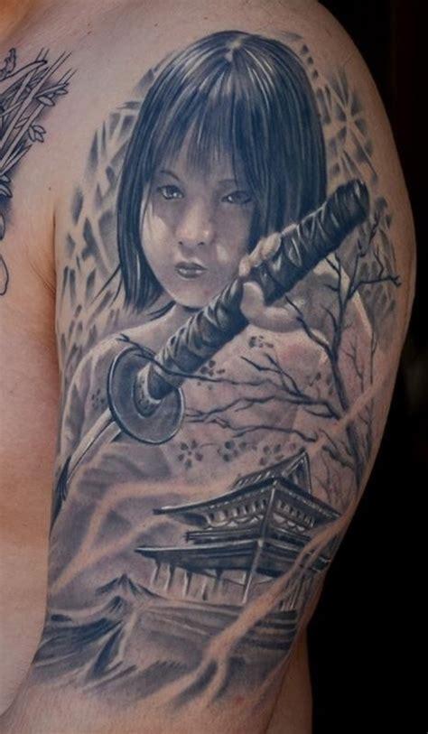 tattoo oriental rosto 75 of the best samurai tattoo designs