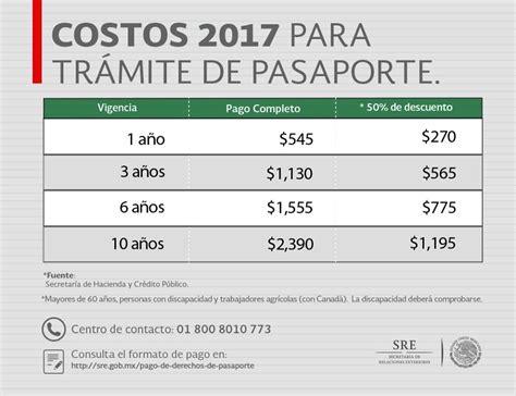 precio para sacra el pasaporte en venezuela pasaporte mexicano primera vez y renovaci 243 n pata de perro