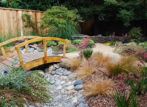 landscaping bridge 15 whimsical wooden garden bridges home design lover