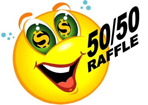 Drawing Vs Raffle by 50 50 Raffle Ticket Clip Clipart Best