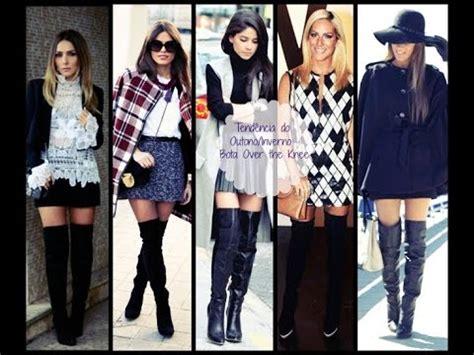 como usar fan por fan 2015 youtube moda outono inverno 2015 como usar a bota over the knee