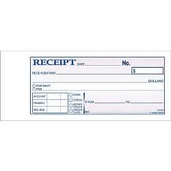 adams 174 carbonless money rent receipt books 2 3 4 quot x 7 3