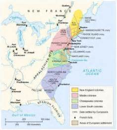colonial map of 13 colonies maps