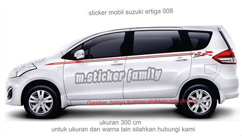 Sticker Family Keluarga Anak Mobil Baby Custom Ertiga Luxio Fskpc 036 jual sticker mobil ertiga list suzuki ertiga 008 m sticker family