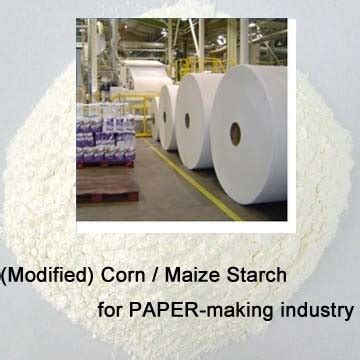 Starch For Paper - corn modificado starch para paper industrial