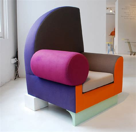 One Armed Chair Design Ideas Ettore Sottsass Retrospective Exhibition