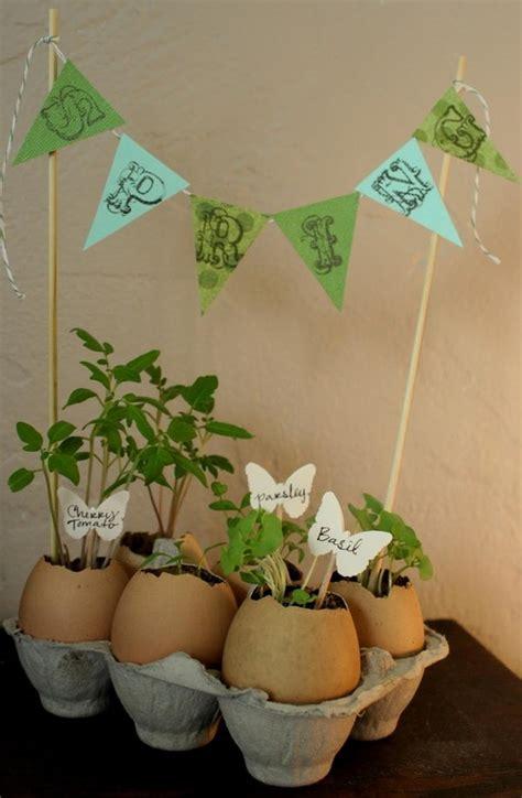 Eggshell Planters by 20 Diy Egg Decorating Ideas Tutorials Hative